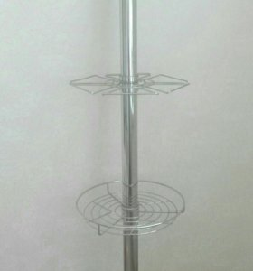 Труба с полками для барной стойки