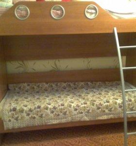 Детская кровать 2-хярусная