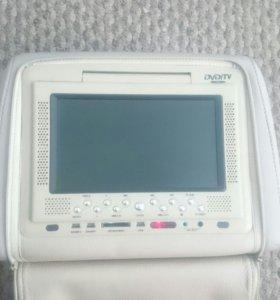Подголовник со встроенным ЖК-экраном