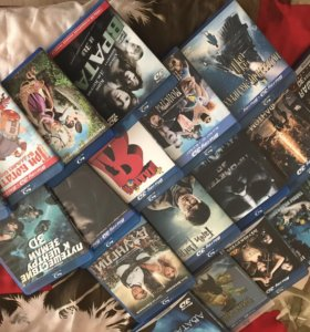 Blu-ray 3D диски 20 штук