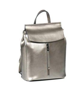 Рюкзак -сумка (трансформер) из натуральной кожи