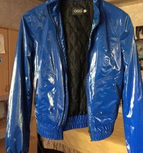 Куртка Oggi эксклюзивная р.42-44 ярко-синяя
