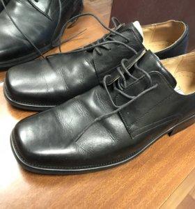 Кожаные мужские туфли tervolina