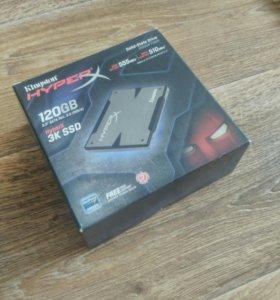 Жёсткий диск SSD 120gb