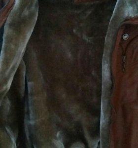 Куртка женская (кожзам)