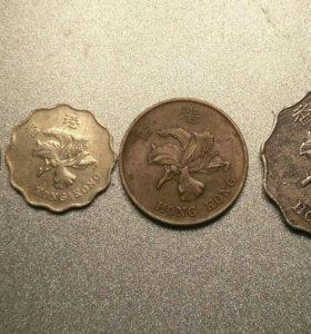 Монеты Гонконг