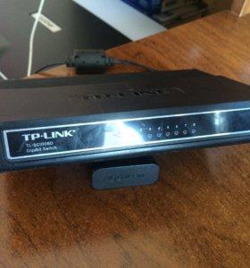 Коммутаторы TP-Link D-link