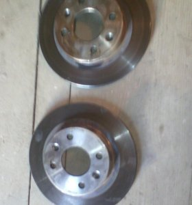 Передние диски на рено логан новые