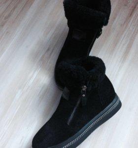 Замшевые ботинки 👢