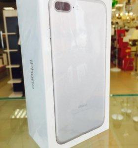 iPhone 7 Plus 128Gb Серебристый НОВЫЙ ОРИГИНАЛ