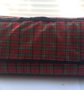 Новый Фирменный плед-коврик