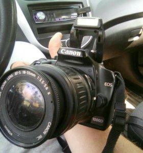 Зеркальный фотоаппарат Canon d1000