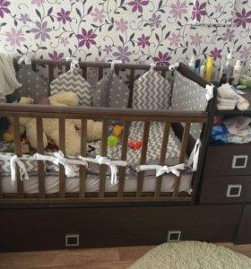 Детская кровать трансформер.