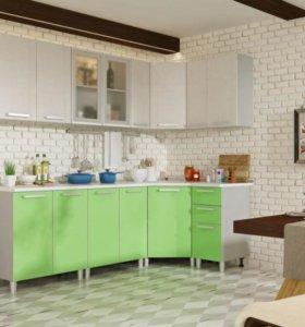 Практичная кухня, бтс-мебель