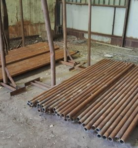 Трубы на забор