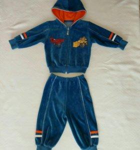 Спортивный костюм на мальчика р-74