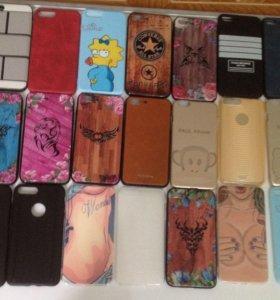 Чехлы для iphone 5-7+
