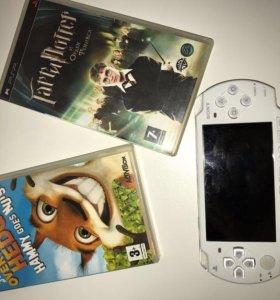 PSP + 2 диска