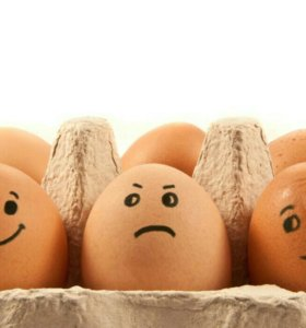 Яйца от домашних кур