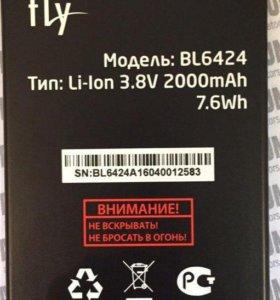 Аккумулятор fly BL6424 FS505 Новый оригинал.