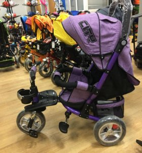 Велосипед коляска трехколёсная