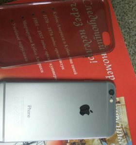 Смартфон Apple iPhone 6 32GB (серый космос)