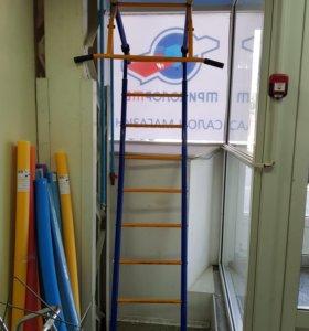 Шведская лестница с турником