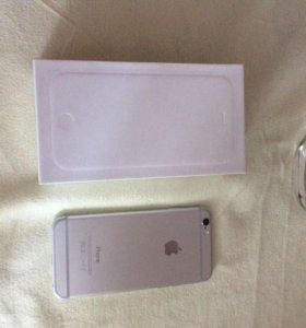 Айфон 6 белый 16 гигабайт