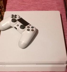 PlayStation 4 slim 500GB белая