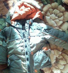 Куртка зимняя на 3,4г недорого