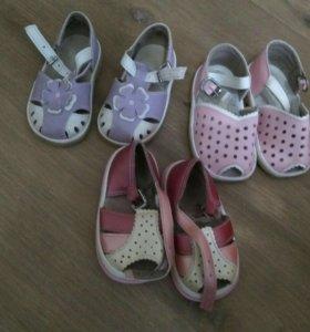 Сандали,ботиночки и сапожки для девочки