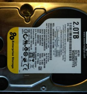HDD 2000GB WD2003fyys WD RE4