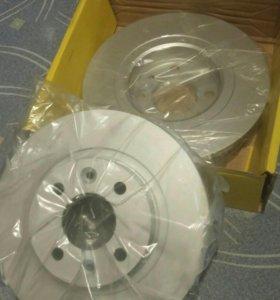 Тормозные диски Рено Логан/Сандеро