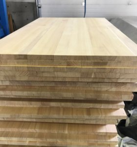 Мебельный щит цельноламельный 20 мм