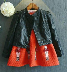 Новая куртка демисезонная на девочку.