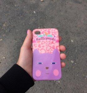Чехол на айфон 4