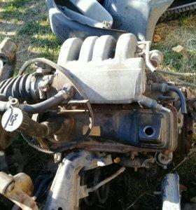 Мотор,Коробка на Volswagen T4