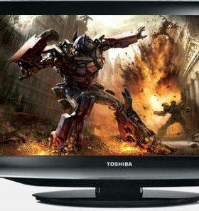 "Телевизор Toshiba 15"" с DVD"