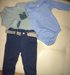 Боди,джинсы,кофта