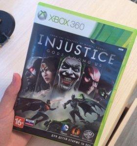 "Игра на Xbox 360 ""Injustice: Gods among us"""