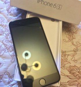 Айфон 6s 16 gb, +бронестекло и чехол