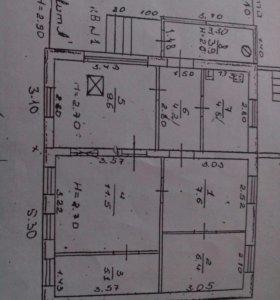 Дом, 53.1 м²