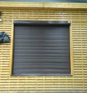 Рольставни,шлагбаум,секционный ворота,окна пластик