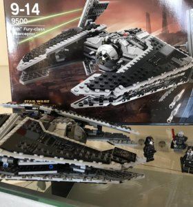 Lego Star Wars sith fury-class interceptor