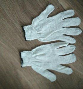 Перчатки ХБ рабочие