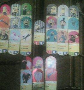 Игровые карточки. Гадкий Я 3!