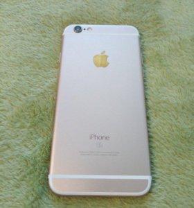 Продам Apple 6s,золотой!
