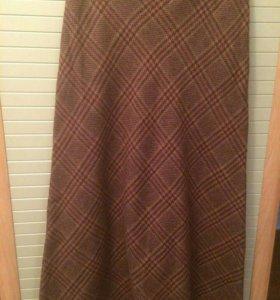 Новая шерстяная юбка р. 44-46