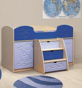 кровать-уголок школьника Омега-5.