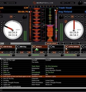 DJ Контроллер serato scratch live sl1